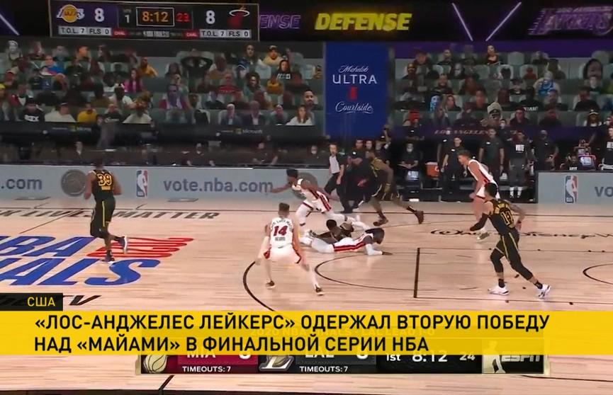 Чемпионат НБА: баскетболисты «Лос-Анджелес Лейкерс» в двух шагах от победы