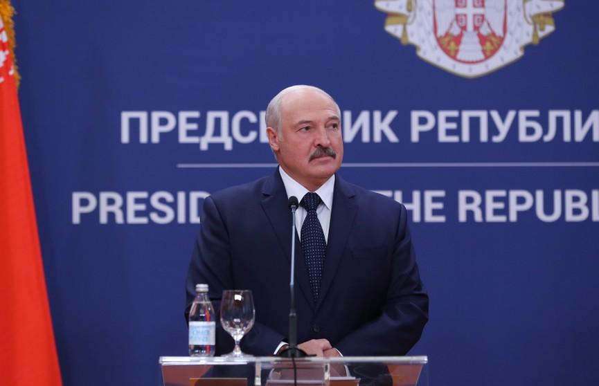 Лукашенко в Сербии: Наше главное достижение - возможность быть хозяевами на своей земле