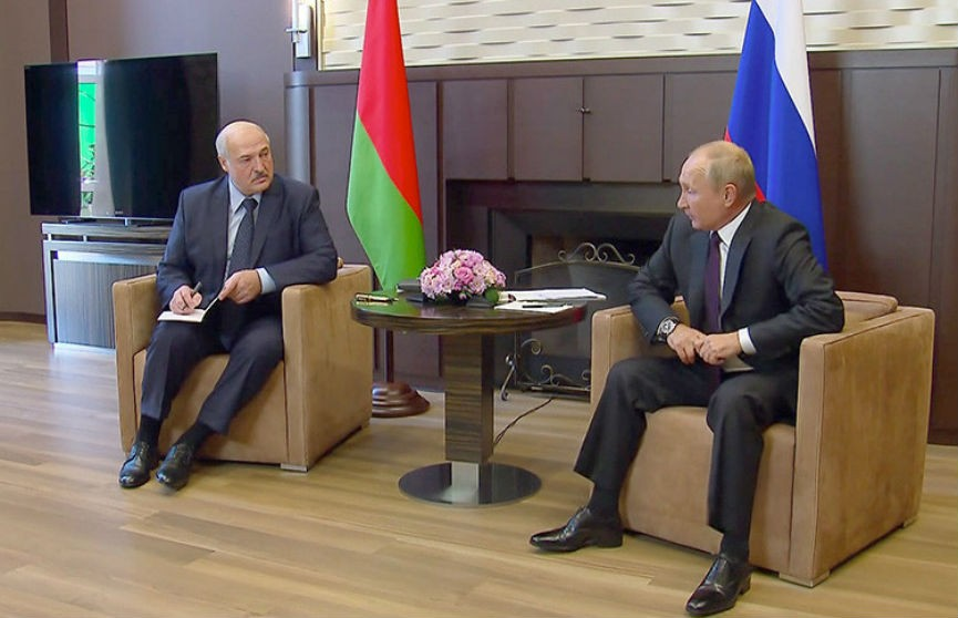 Путин: Россия предоставит Беларуси кредит в 1,5 миллиарда долларов
