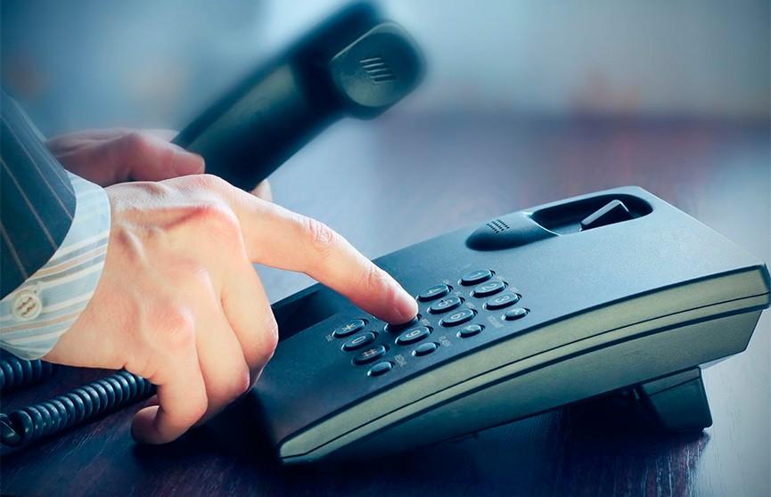 6 марта исполкомы проводят прямые телефонные линии