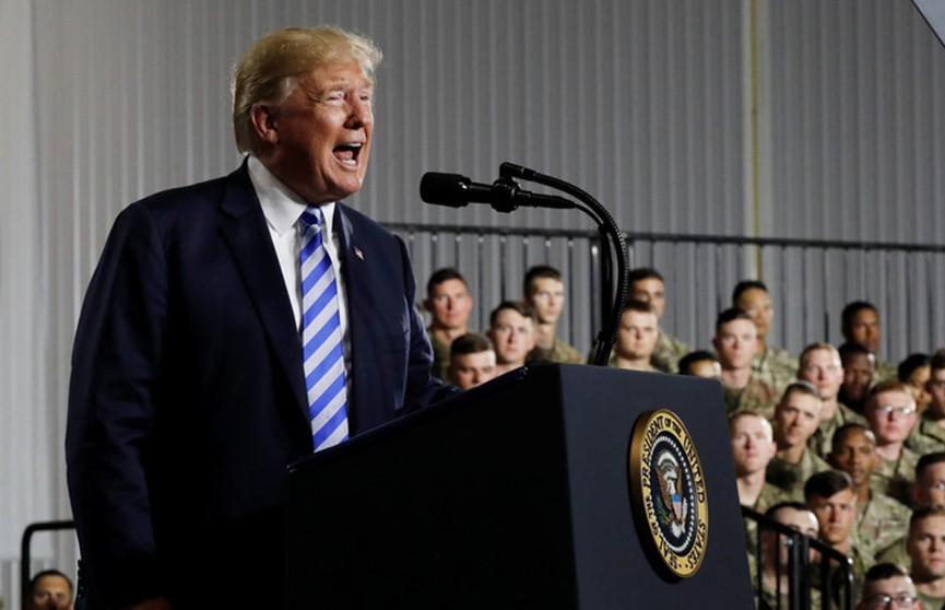 Президент Трамп подписал новый оборонный бюджет США