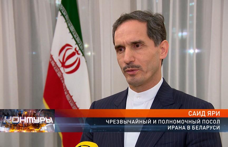 Посол Ирана о поставках нефти в Беларусь: Мы готовы сесть за стол и обсудить этот вопрос