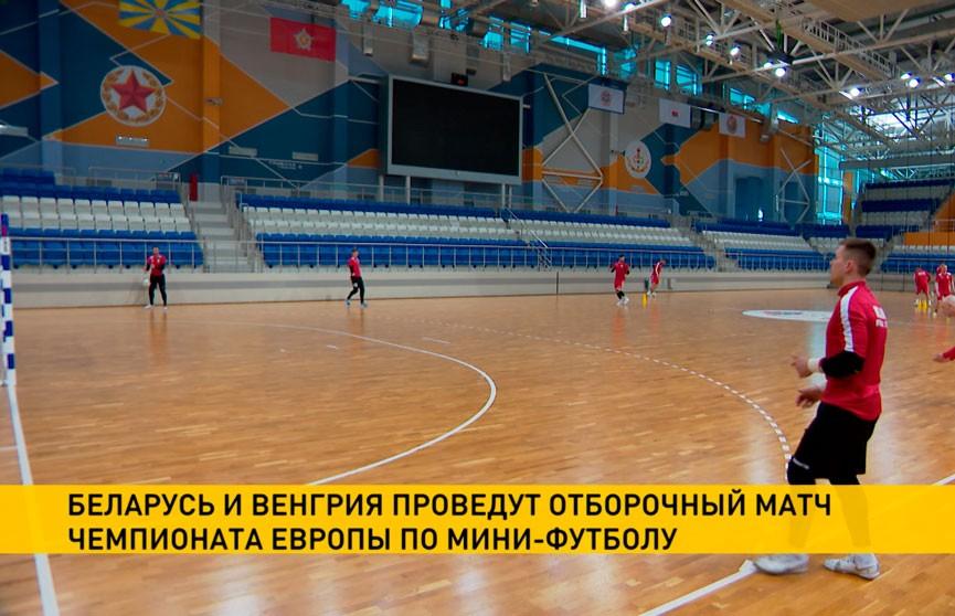 Беларусь и Венгрия проведут отборочный матч чемпионата Европы по мини-футболу