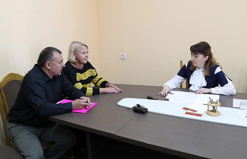 Выездной прием граждан в Борисове провела начальник главного идеологического управления Администрации Президента Беларуси Ольга Шпилевская