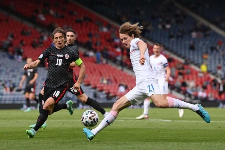 Хорватия и Чехия сыграли вничью в чемпионате Европы по футболу
