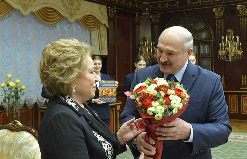 Официальный визит Валентины Матвиенко в Беларусь: встреча с Александром Лукашенко и переговоры в Совете Республики