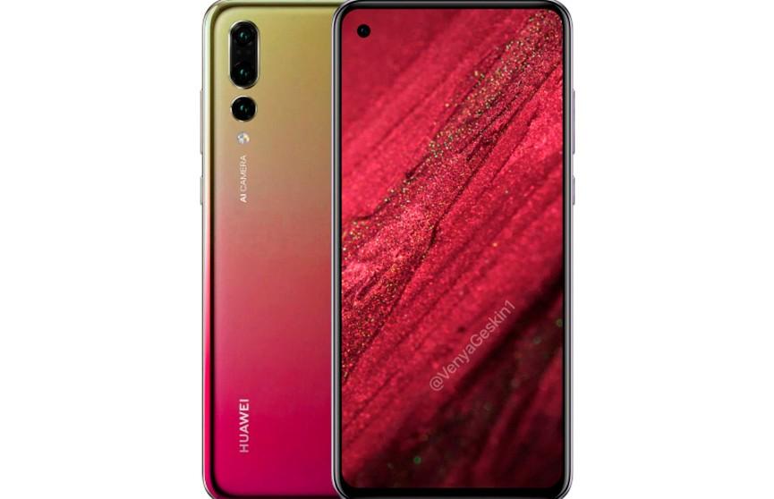 Смартфон Huawei Nova 4 с дырявым экраном покажут в середине декабря