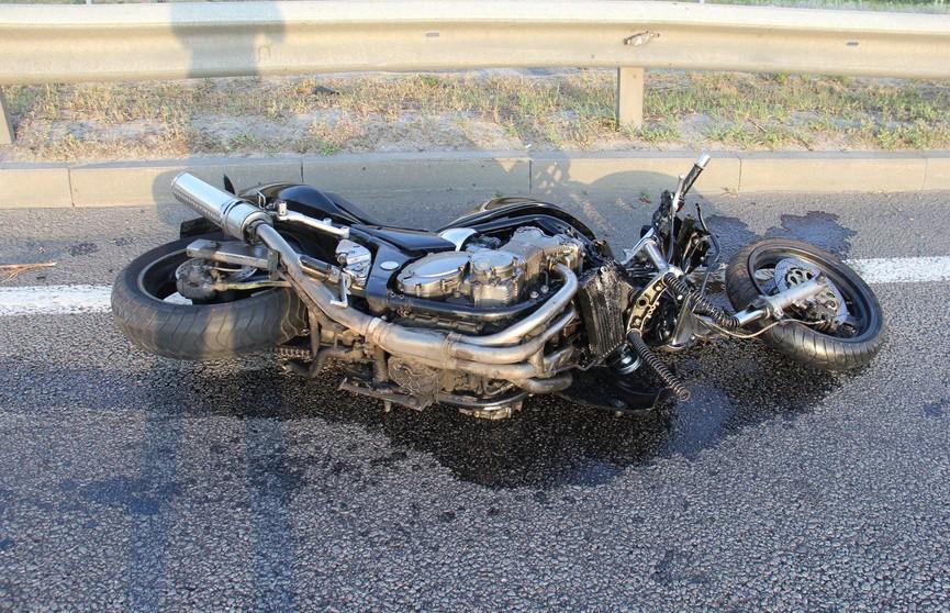 ДТП в Гомеле: мотоциклист погиб при столкновении с микроавтобусом
