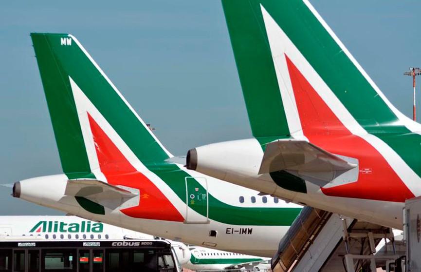 Итальянская авиакомпания Alitalia отменила свыше 300 авиарейсов из-за забастовки