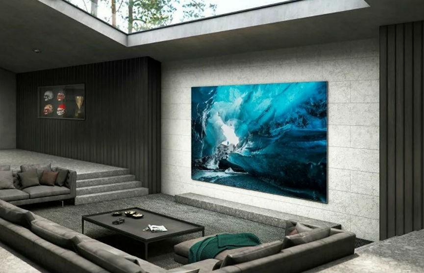 Первый в мире телевизор с дисплеем MicroLED представлен публике