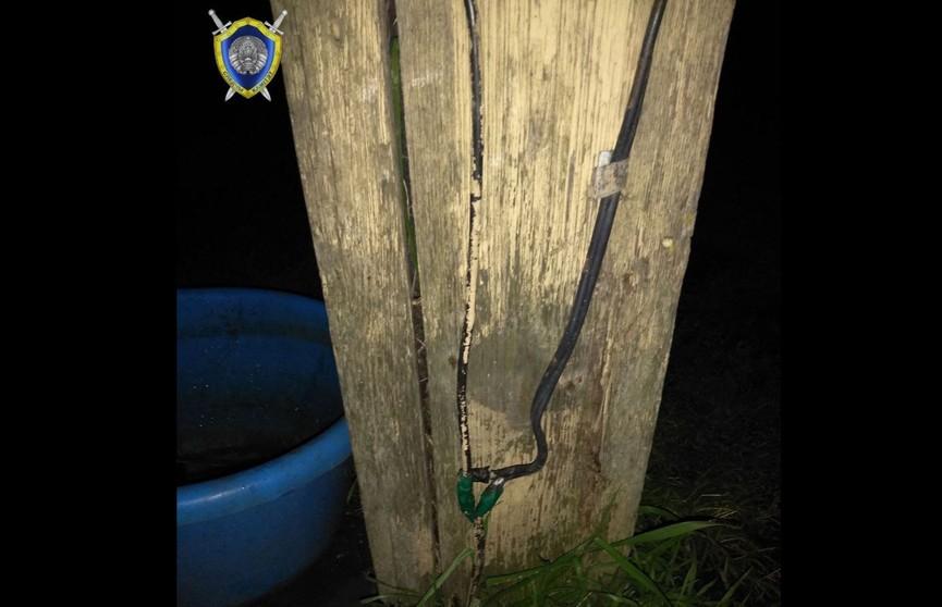 3-летний мальчик в Стародорожском районе дотронулся до оголенного провода и погиб