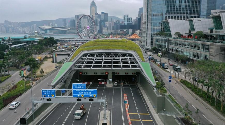 В Гонконге открыли подводный туннель стоимостью $6,1 млрд