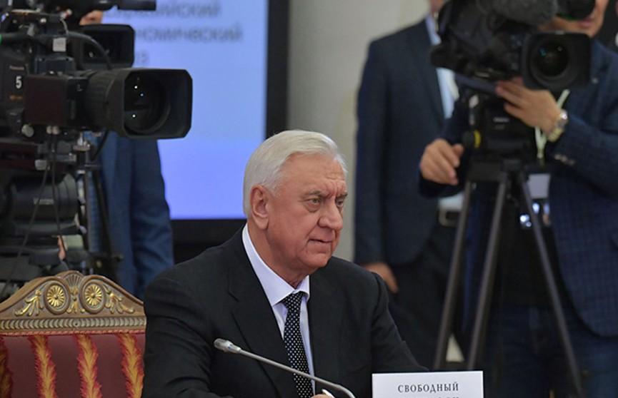 Новым председателем коллегии ЕЭК стал Михаил Мясникович