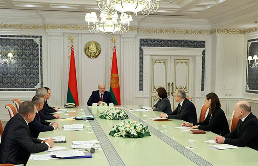 Лукашенко: Самое важное для нас сейчас – это обстановка вокруг Беларуси