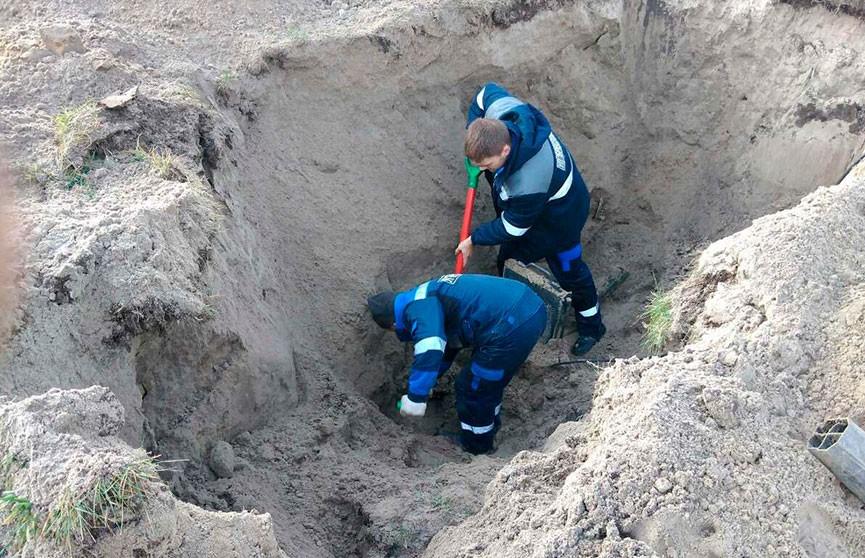 Коммунальщики повредили газопровод в Пинске: без газа остались три дома