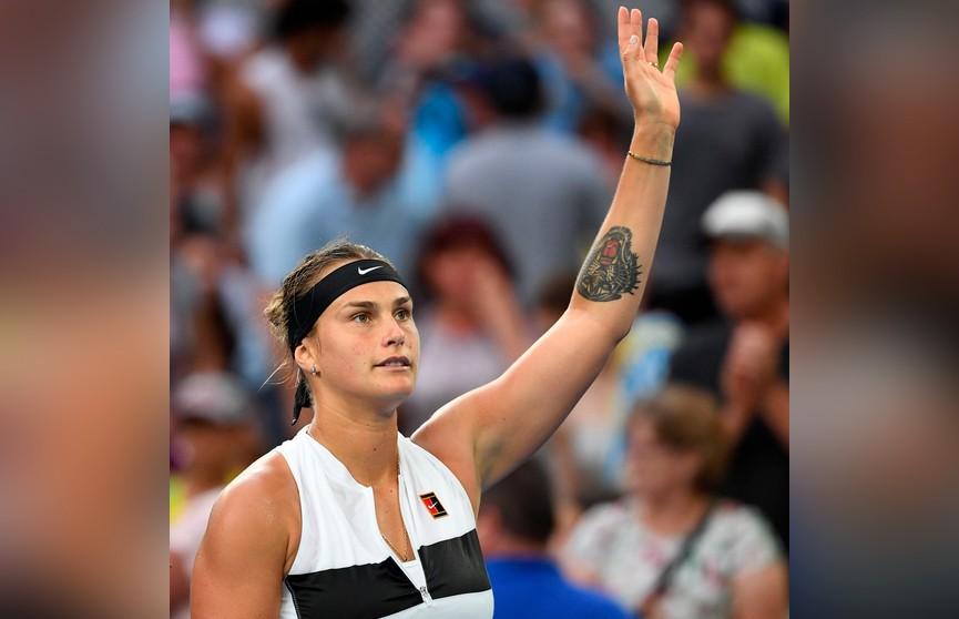 Соболенко вслед за Саснович проходит в третий круг Australian Open