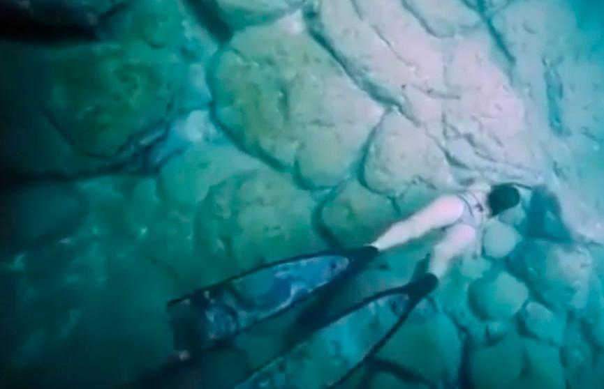 Аквалангистка проплыла по пещерам и стала звездой Интернета