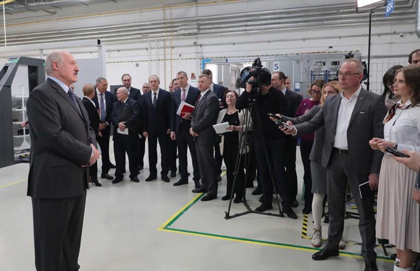 Александр Лукашенко: Надо работать, как в Беларуси, тогда не будет, как в Италии!