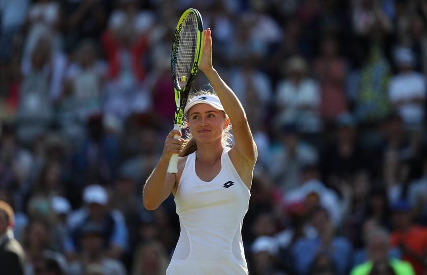 Александра Саснович победно начала выступление на теннисном турнире в Шэньчжэне