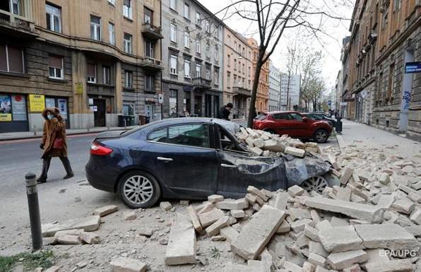 Землетрясение в Хорватии признано самым мощным за последние 140 лет. Есть пострадавшие