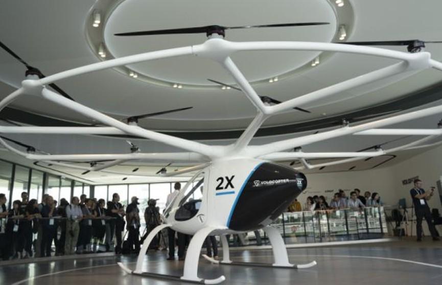 Первое воздушное такси может появиться в Сингапуре в течение трех лет