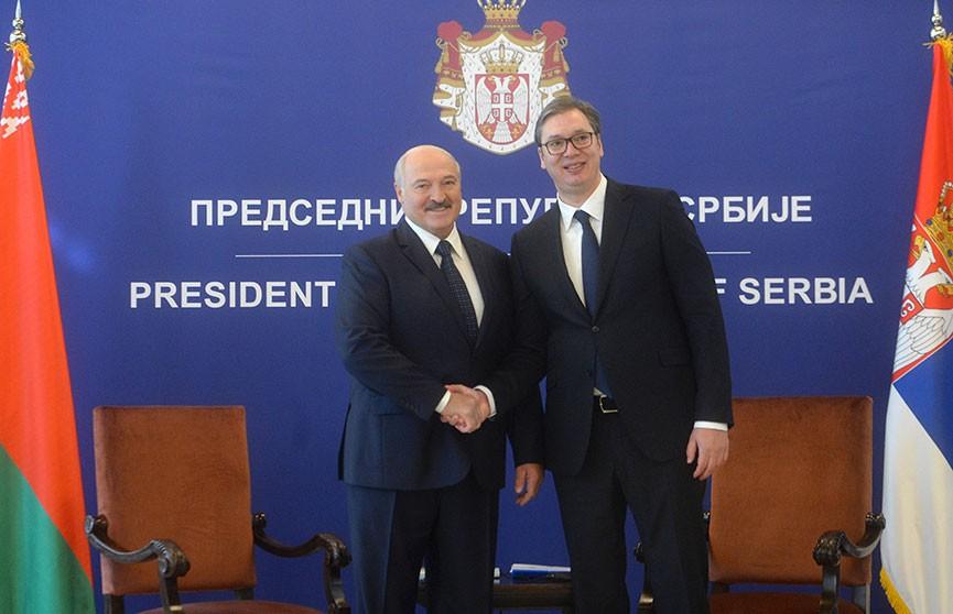 Лукашенко в Сербии: Мы еще повоюем, посражаемся за развитие наших экономических отношений