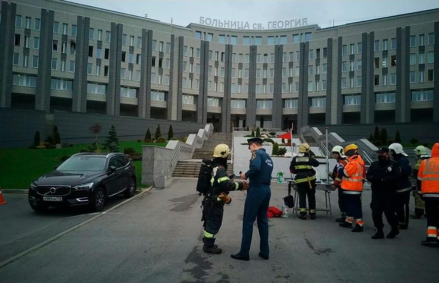 Аппарат ИВЛ загорелся в больнице Санкт-Петербурга – погибли пять пациентов