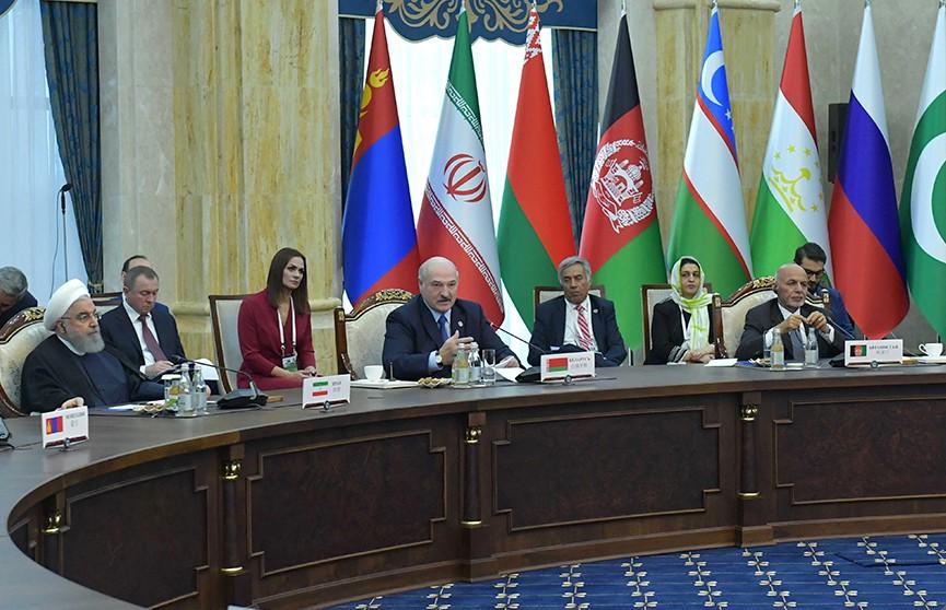 Лукашенко: Современные угрозы являются общими для всех стран. Итоги саммита Шанхайской организации сотрудничества