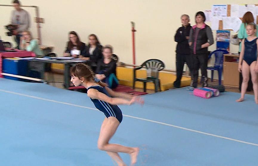 Турнир по спортивной гимнастике «Юный чемпион» проходит в Минске