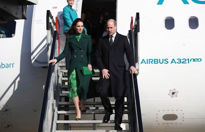 Кейт Миддлтон покорила ирландцев нарядом изумрудного цвета