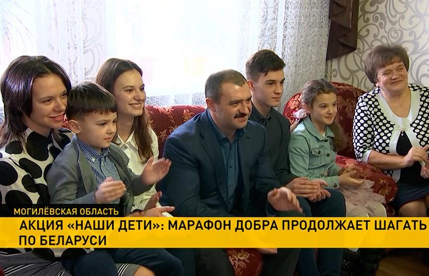 Акция «Наши дети»: сыновья Александра Лукашенко приняли участие в благотворительном марафоне
