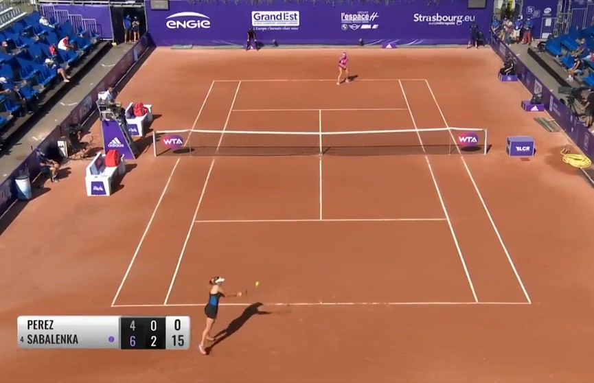 Арина Соболенко обыграла Эллен Перес на теннисном турнире в Страсбурге