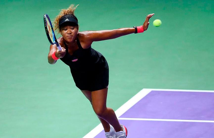 Наоми Осака из Японии по-прежнему возглавляет рейтинг сильнейших теннисисток планеты