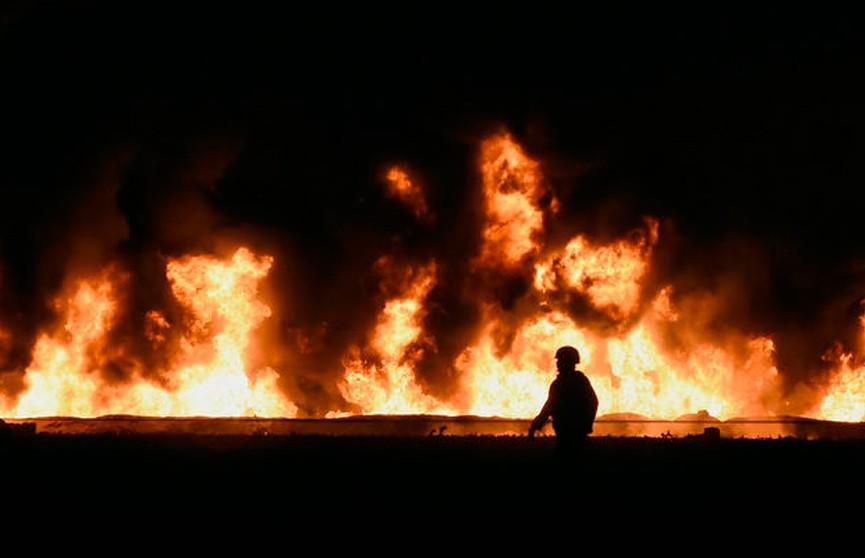 Число погибших из-за взрыва на трубопроводе в Мексике возросло