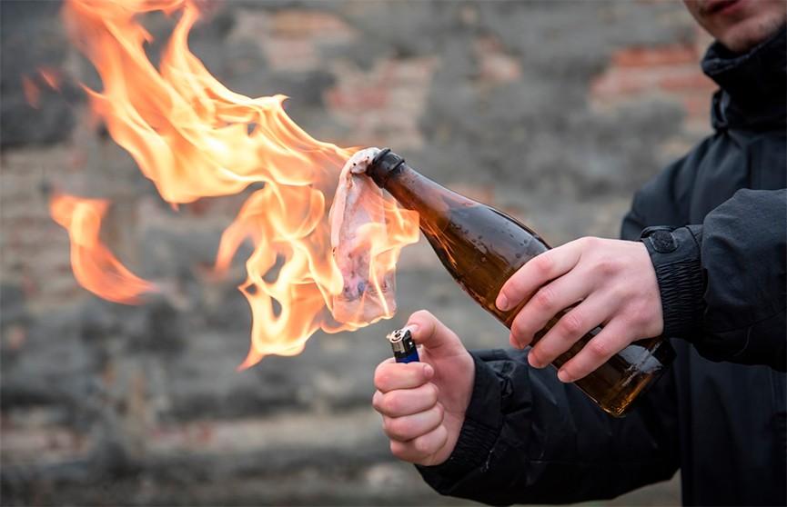 20-летнему минчанину грозит уголовная ответственность за изготовление «коктейлей Молотова»