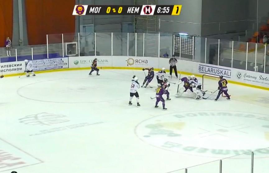 Чемпионат Беларуси по хоккею: «Неман» обыграл «Могилев» в выездном матче