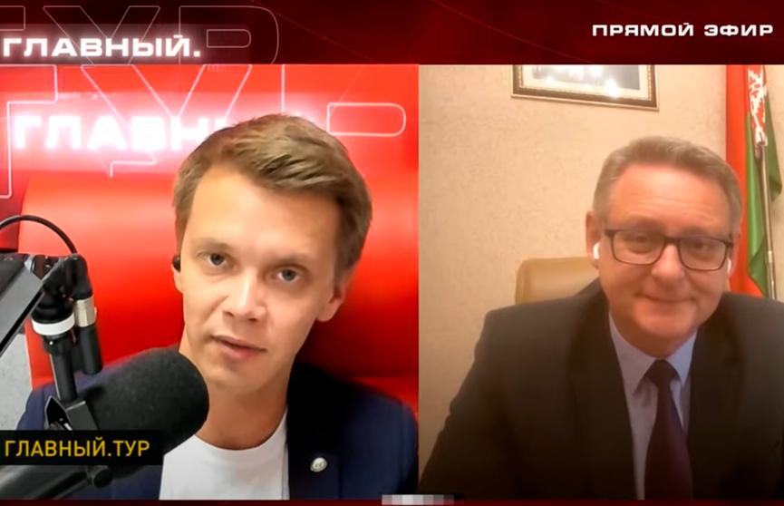 Посол Беларуси Олег Иванов: относимся к ситуации в Афганистане, как к гуманитарному кризису