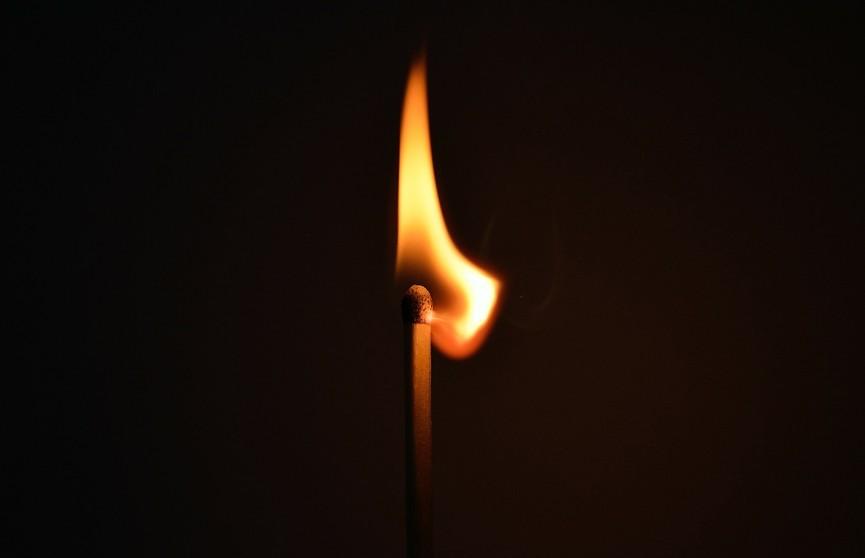Мужчина погиб при пожаре дома