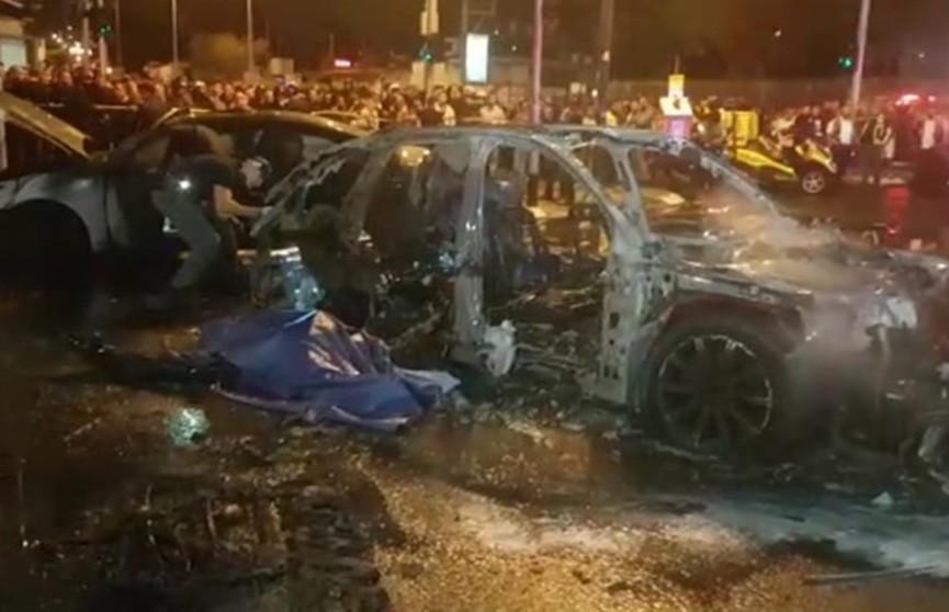 Автомобиль взорвался в Тель-Авиве: двое погибших