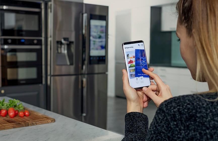 Samsung отыщет любовь при помощи содержимого холодильника