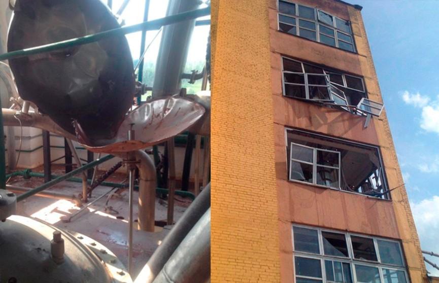 Бочка из-под спирта взорвалась на ликеро-водочном заводе в Ивановском районе (ФОТО ПОСЛЕДСТВИЙ)