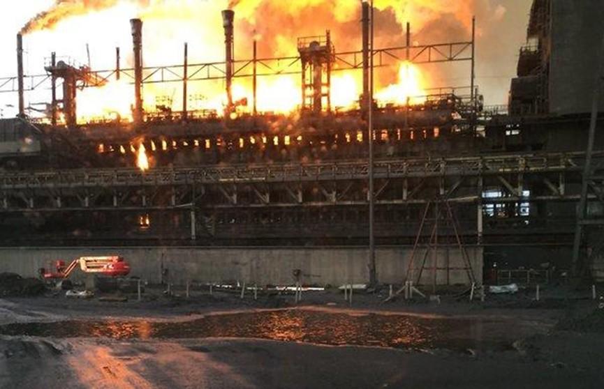 Взрыв произошёл на заводе в Великобритании