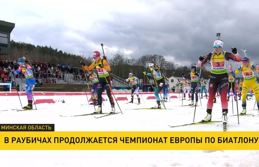 Сборная Беларуси пришла четвёртой в смешанной эстафете на чемпионате Европы по биатлону