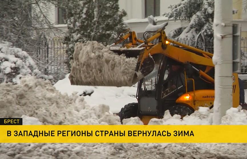 В Беларуси устраняют последствия непогоды