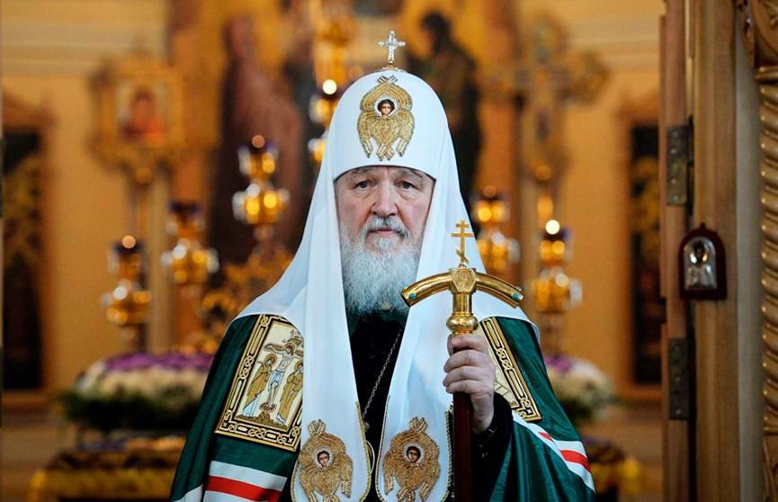 Президент поздравил Патриарха Кирилла с днём тезоименитства