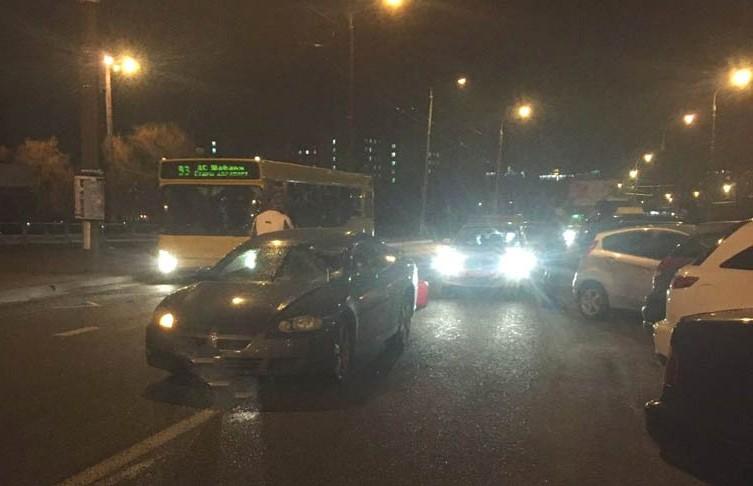 ДТП в Минске: пешеход попал под машину