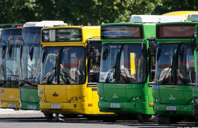 Количество общественного транспорта в Минске сократилось на некоторых маршрутах