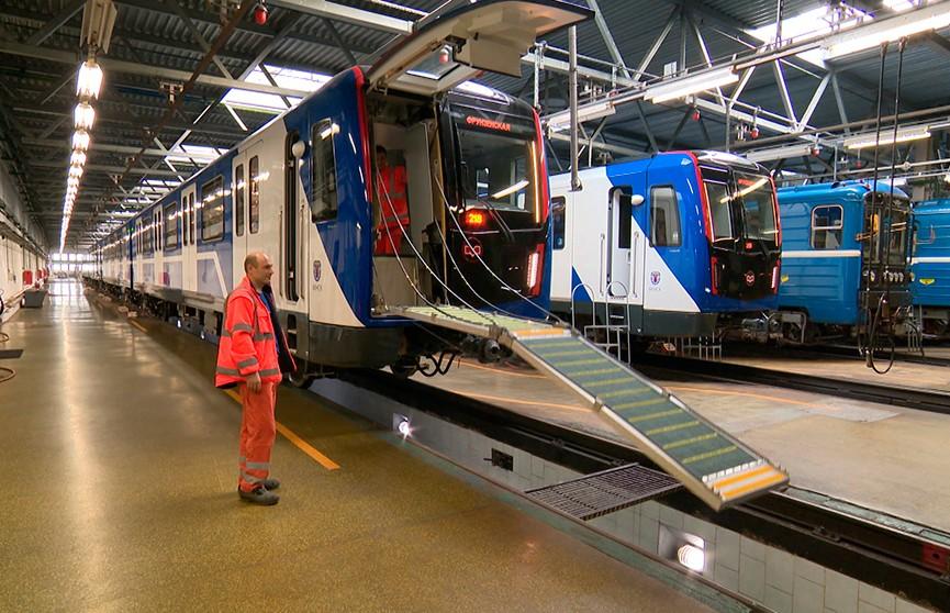 Новые поезда «Штадлер» в минском метро: в чем их особенность?