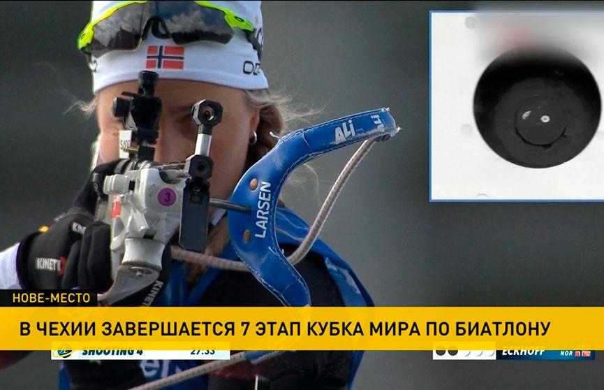 Ирина Кривко заняла 25-е место в масс-старте  на этапе Кубка мира по биатлону в Чехии