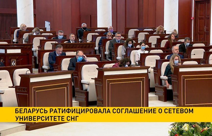 Беларусь ратифицировала соглашение о Сетевом университете СНГ